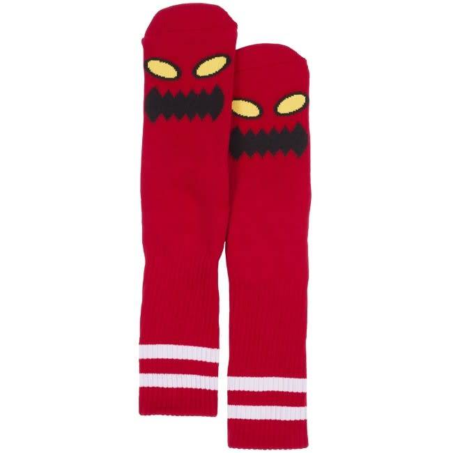 Toy Machine Toy Machine Monster Face Socks - Red