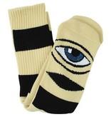 Toy Machine Toy Machine Sect Eye Big Stripe Socks - Yellow