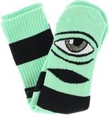 Toy Machine Toy Machine Sect Eye Big Stripe Socks - Mint