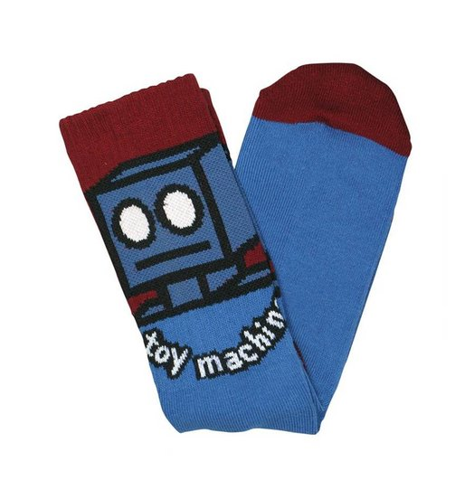 Toy Machine Toy Machine Robot Socks - Blue