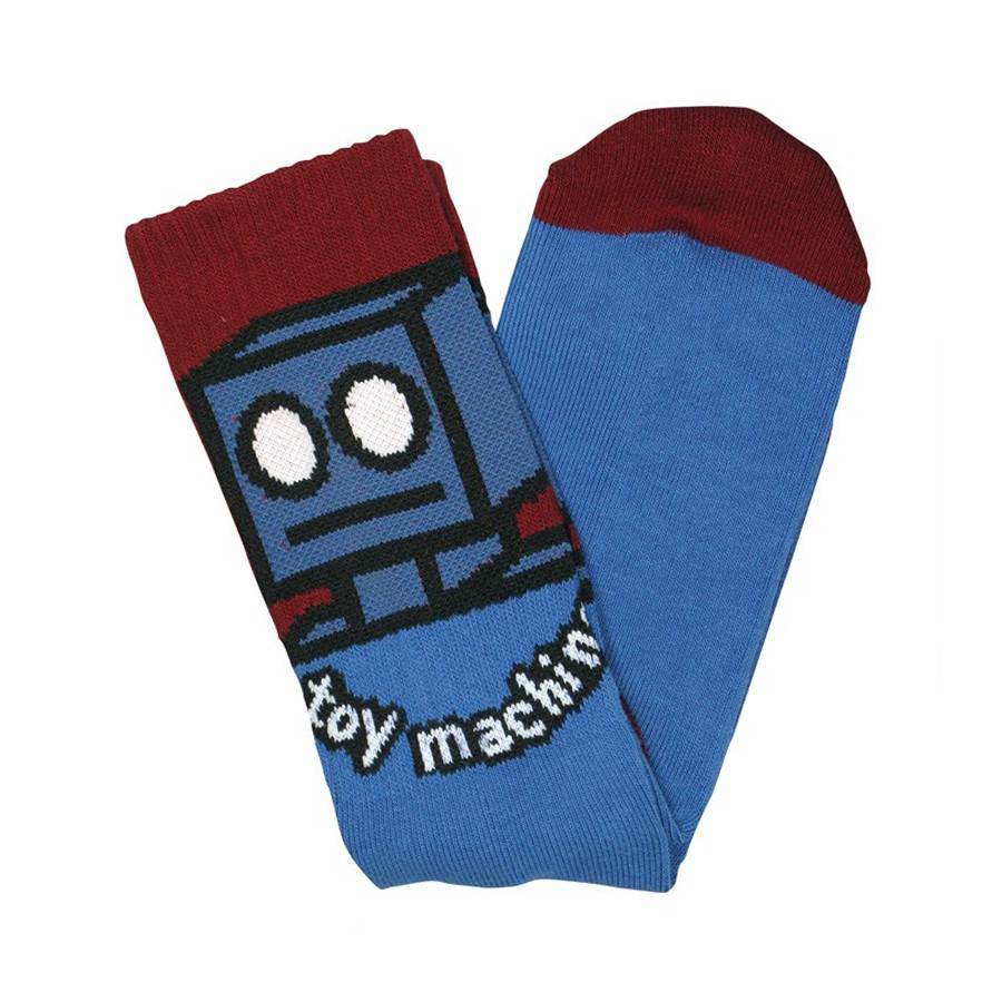 Toy Machine Toy Machine Robot Socks - Blue