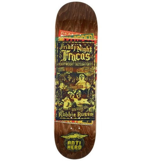 Antihero Anti Hero Russo Friday Night Fracas Deck - 8.75