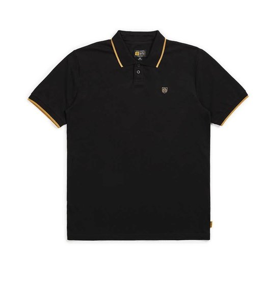 Brixton Brixton X Independent Guard S/S Polo - Black