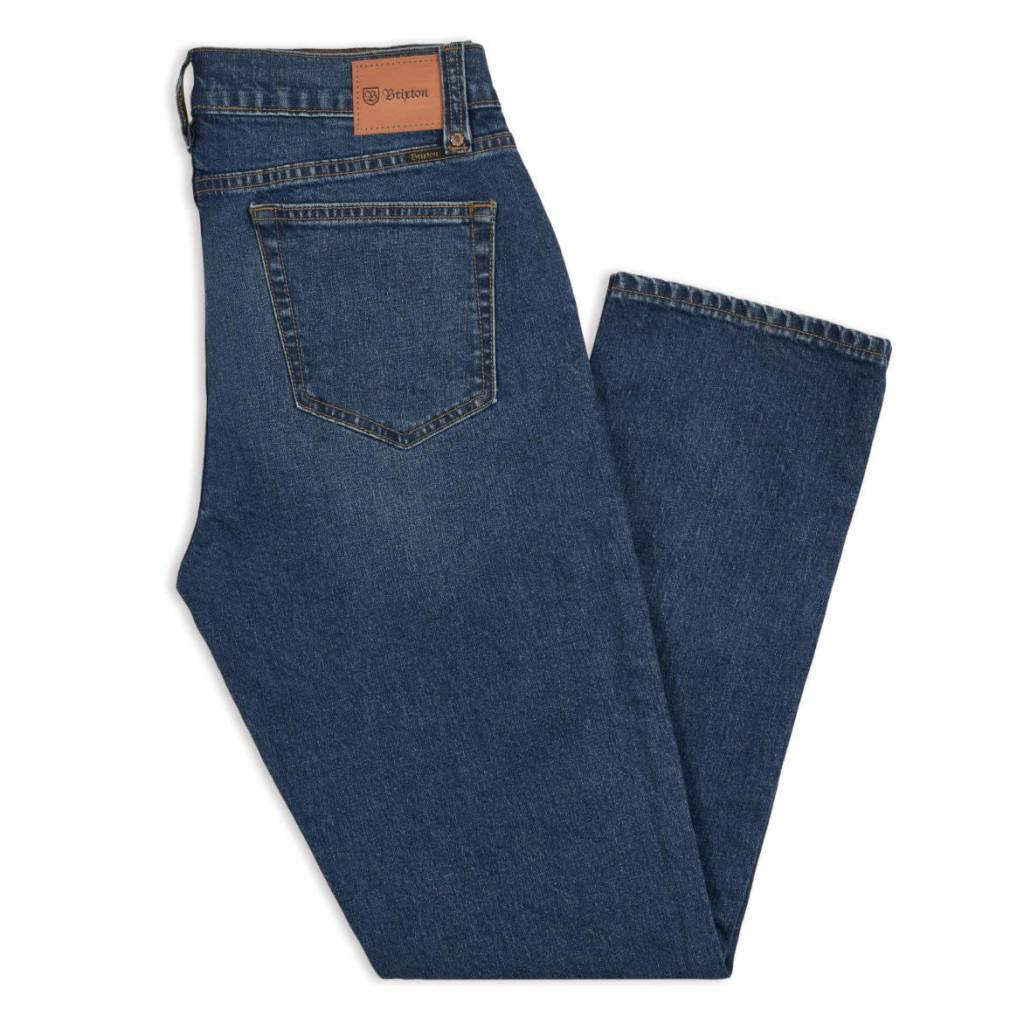 Brixton Brixton Reserve 5-Pocket Jean - Worn Indigo