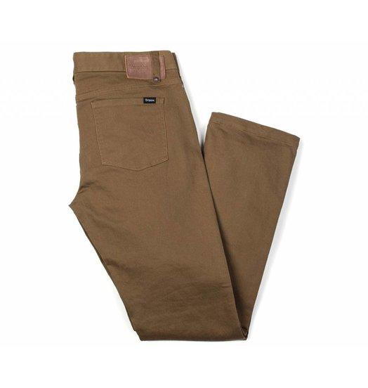 Brixton Brixton Reserve 5 Pocket Pant - Dark Khaki