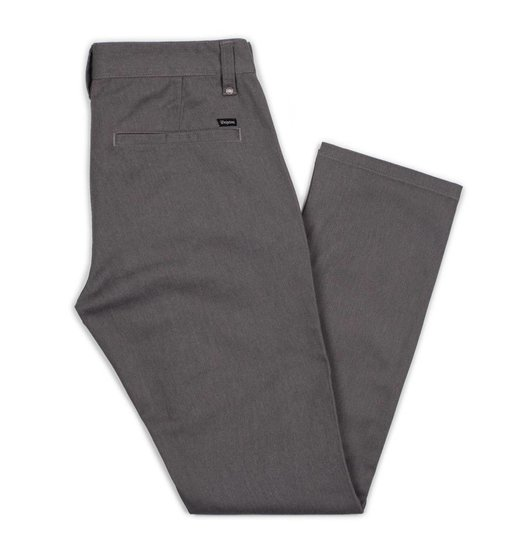 Brixton Brixton Reserve Chino Pant - Heather Grey