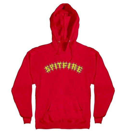 Spitfire Spitfire De Keyzer Two Stroke Hood - Red/Yellow