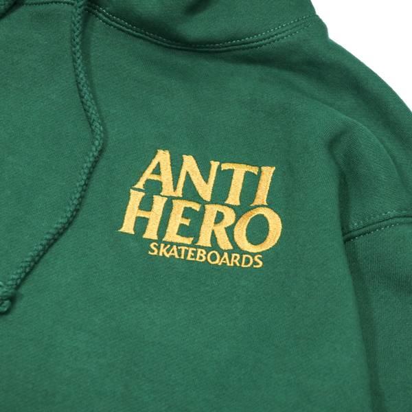 Antihero Anti Hero Lil Blackhero Hood Green