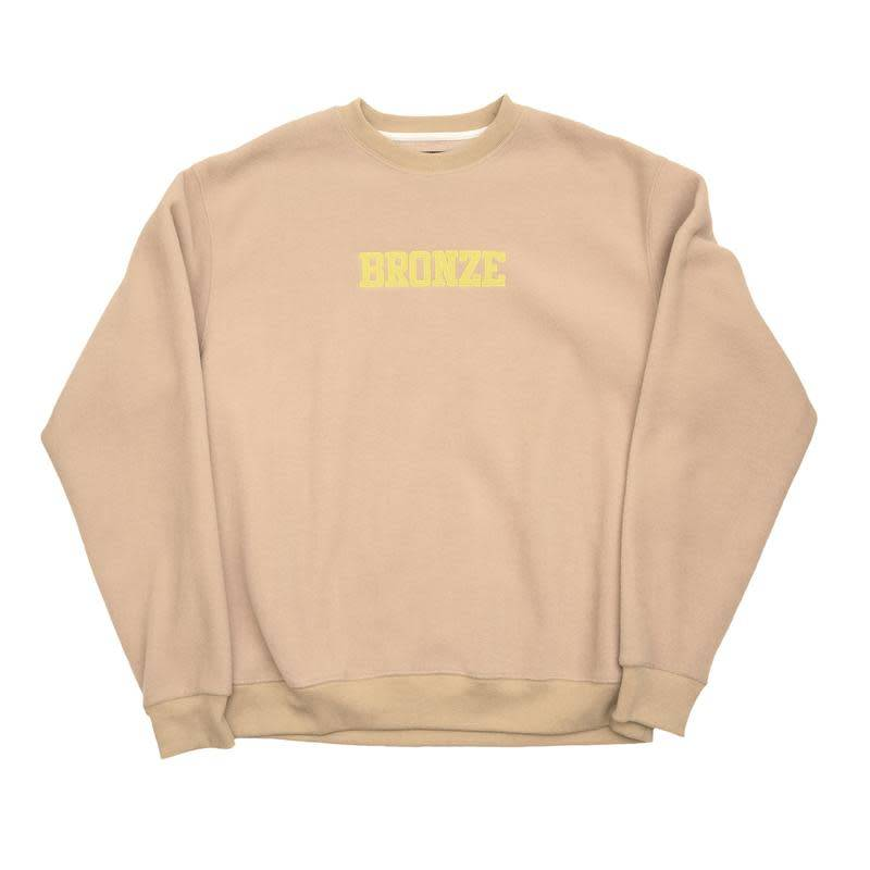 Bronze 56K Bronze 56K Fleece Crewneck - Sand
