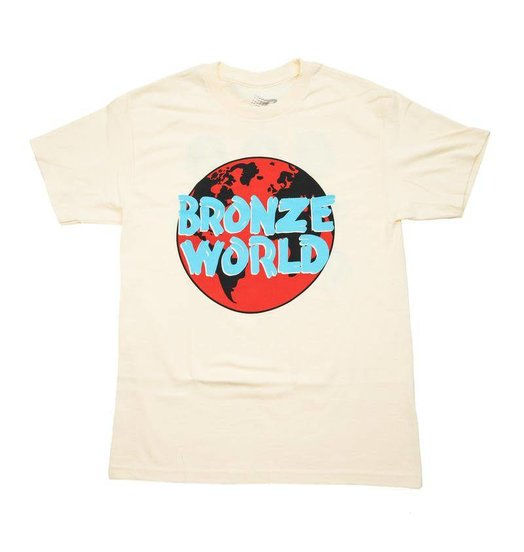 Bronze 56K Bronze 56K Bronze World Tee - Cream