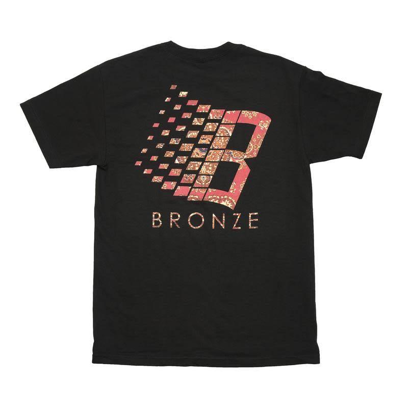 Bronze 56K Bronze 56K B Logo Rug Tee - Black