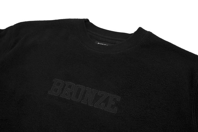 Bronze 56K Bronze 56K Fleece Crewneck - Black