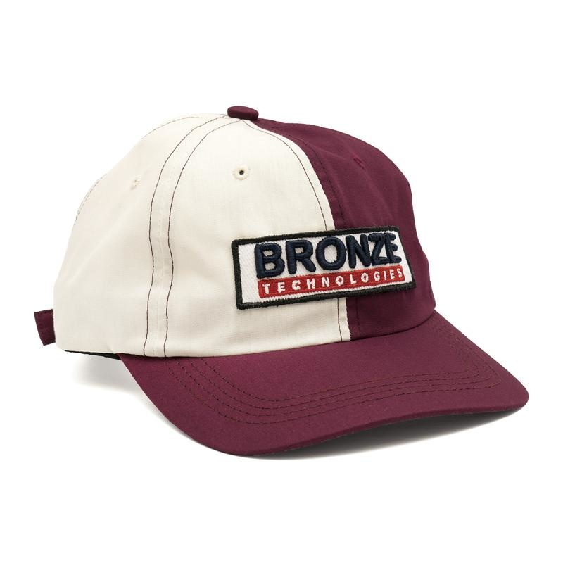 Bronze 56K Bronze 56K Technologies Patch Hat - Red/Blue