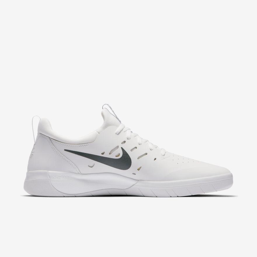 Nike Nike Nyjah Free - Summit White/Anthracite-Lemon Wash