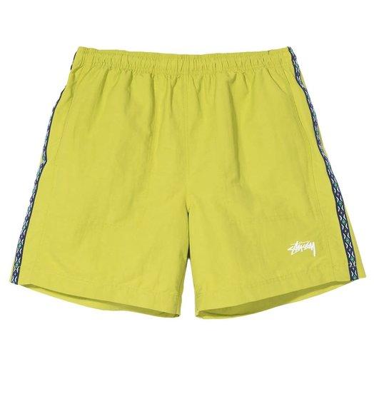Stussy Stussy Nylon Taping Short - Lime