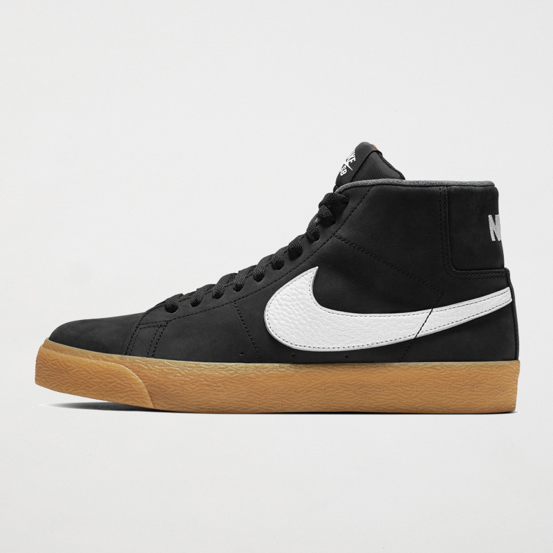 quality design f9199 752db Nike Nike SB Zoom Blazer Mid ISO - Black White Safety Orange ...