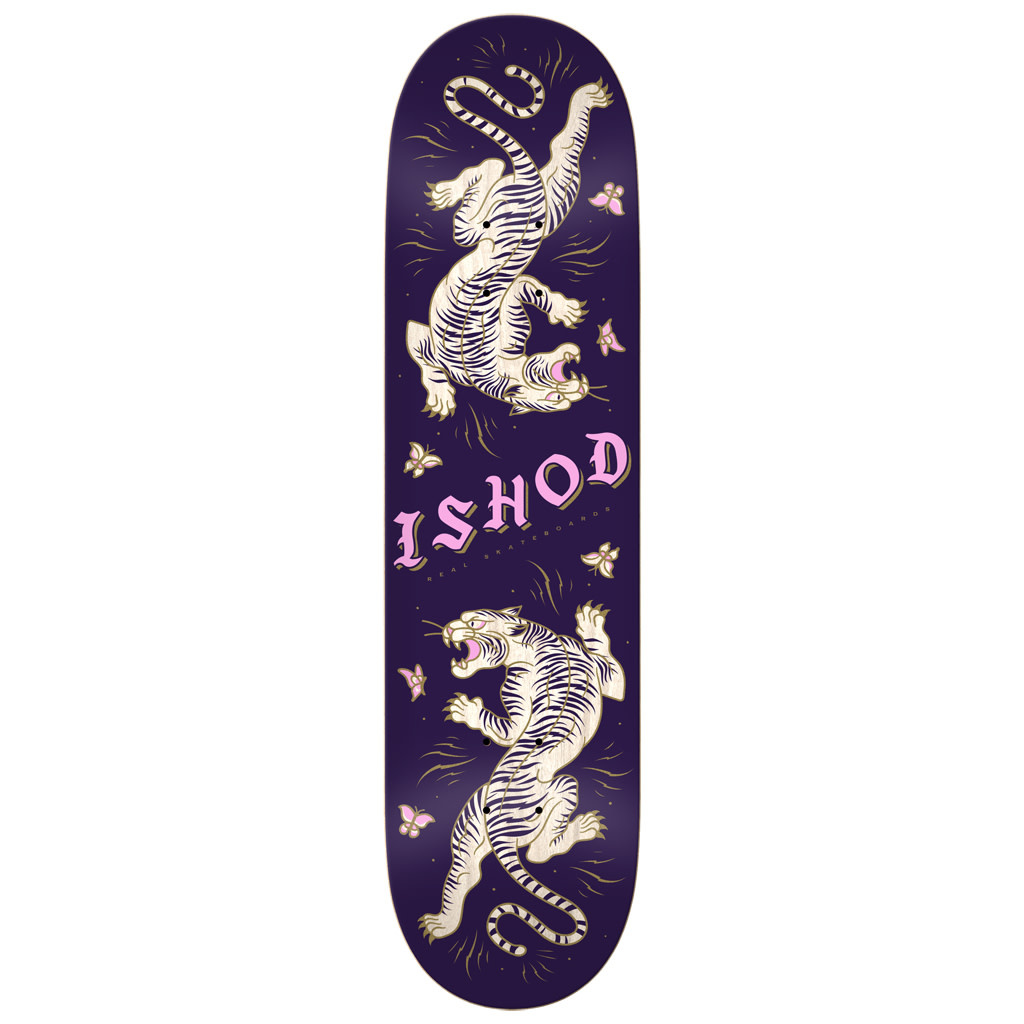 Real Real Ishod Cat Scratch Twin Tail Deck - 8.0