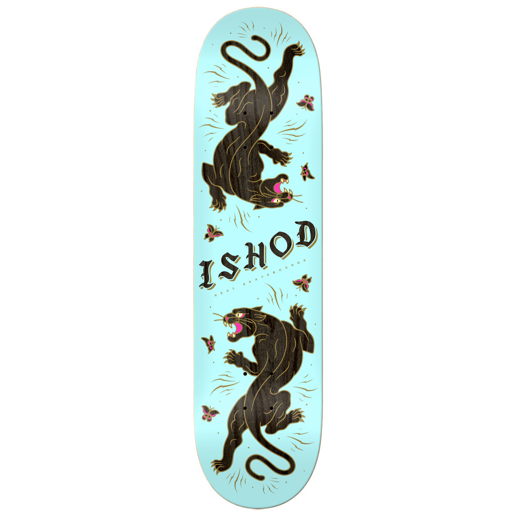 Real Real Ishod Cat Scratch Twin Tail Deck - 8.25