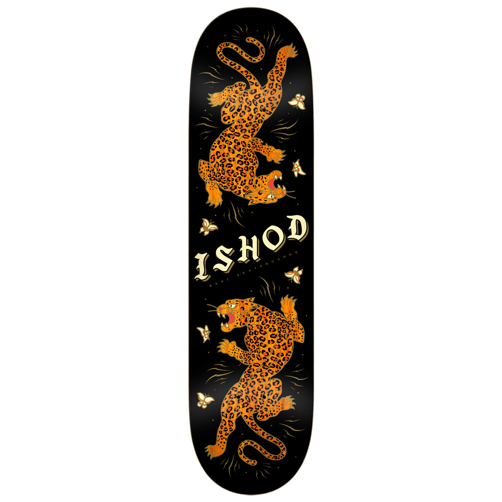 Real Real Ishod Cat Scratch Twin Tail Deck - 8.5