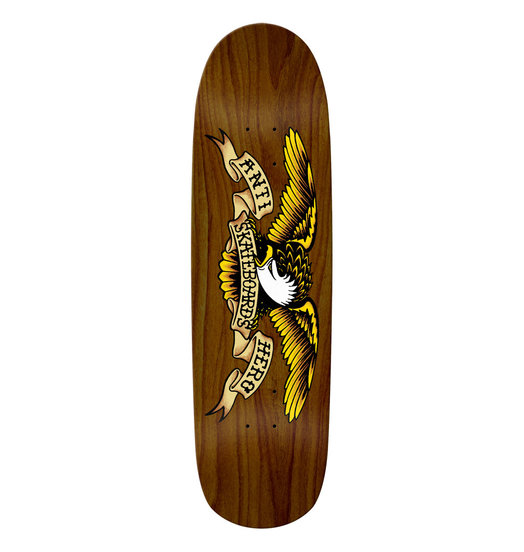 Real Antihero Brown Bomber Deck - 8.86