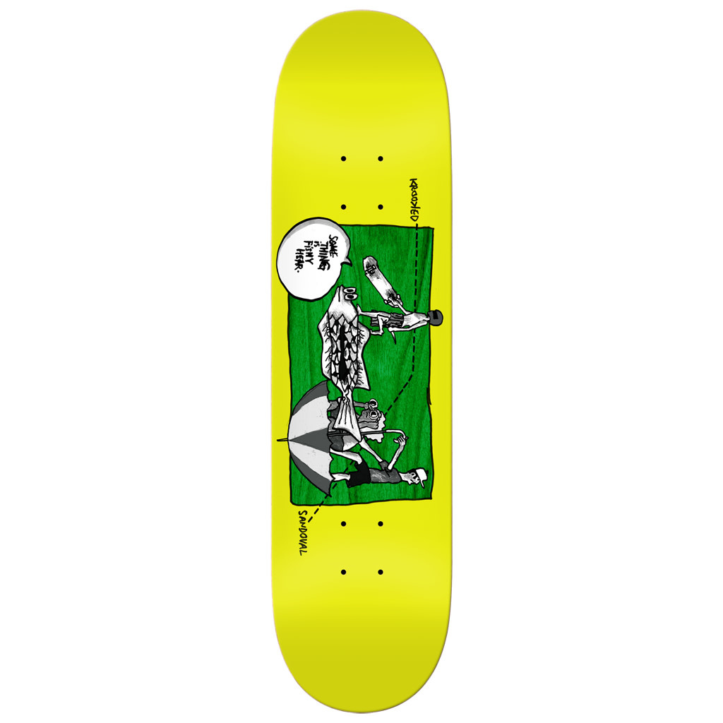 Real Krooked Sandoval Fishy Deck - 8.75