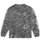 HUF Huf Triple Triangle Soho Marble Wash Longsleeve - Black