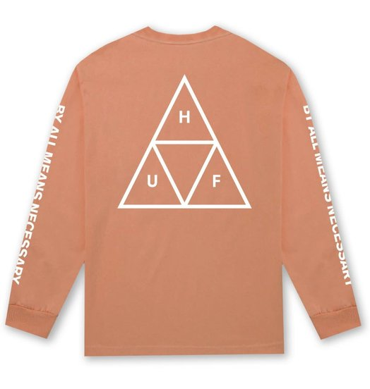 HUF Huf Triple Triangle Longsleeve - Canyon Sunset