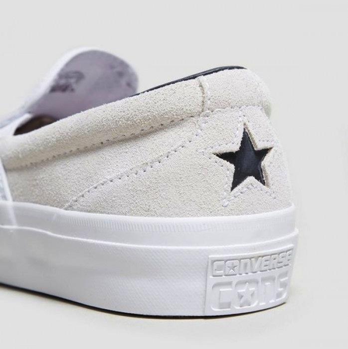 Converse Converse One Star CC Slip Pro - Egret/Navy/White