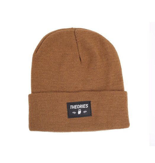 Theories Theories Moluch Beanie - Coyote Brown