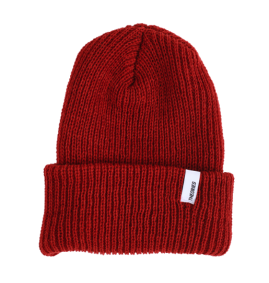 Theories Theories Beacon Beanie - Rust