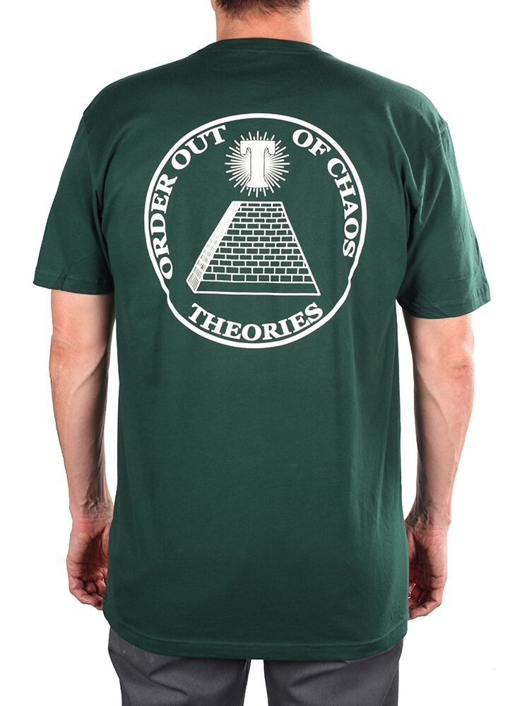Theories Theories Chaos Tee - Forest Green