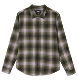 Stussy Stussy Alton Plaid Shirt - Olive