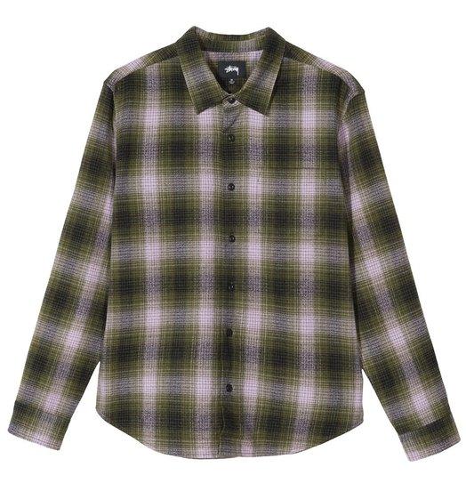 Stussy Stussy Alton Plaid Shirt - Olive