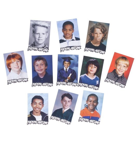 Fucking Awesome Fucking Awesome Class Photo Sticker Pack