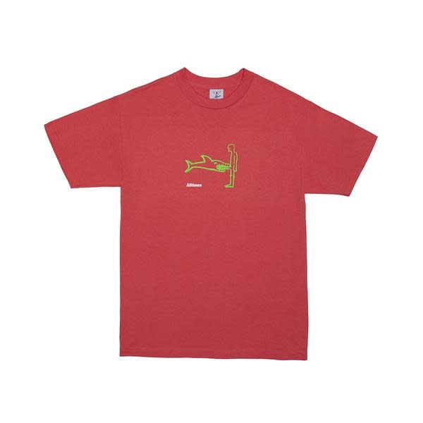 Alltimers Alltimers Shark Dick Tee - Coral