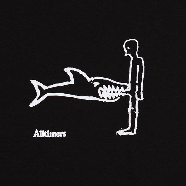 Alltimers Alltimers Shark Dick Tee - Black