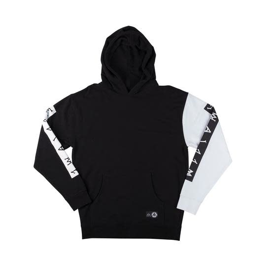 Welcome Welcome Invert Pullover Hoodie - Black/White