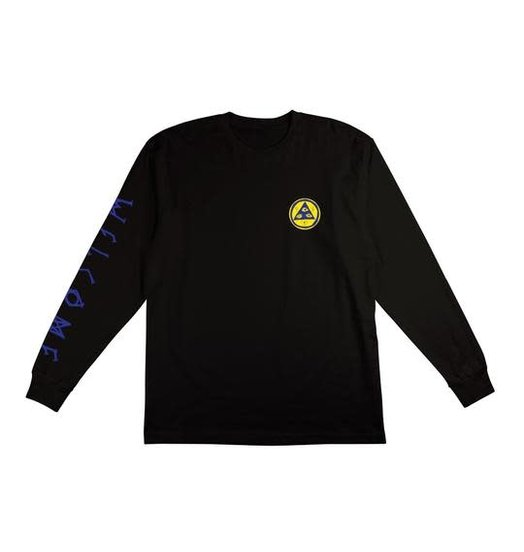 Welcome Welcome Sloth L/S Tee - Black/Blue/Yellow