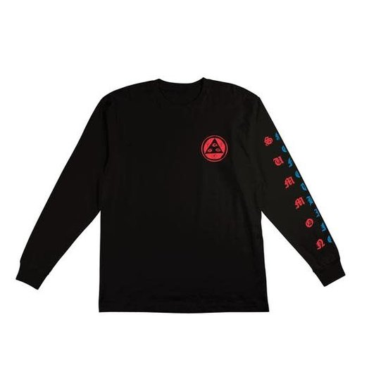 Welcome Welcome Beckon L/S Tee - Black/Blue/Red