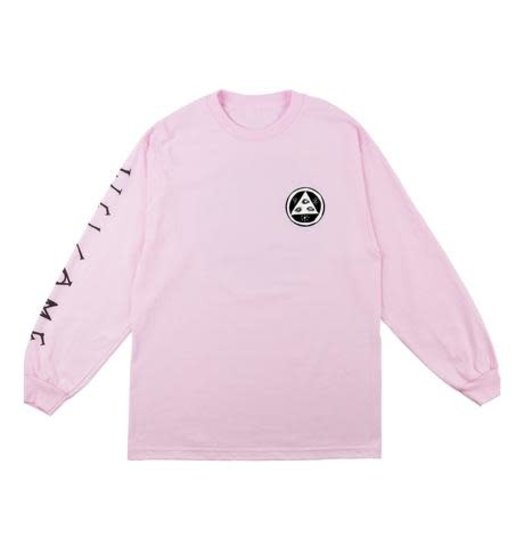 Welcome Welcome Tali-Scrawl L/S Tee - Pink/Black/White