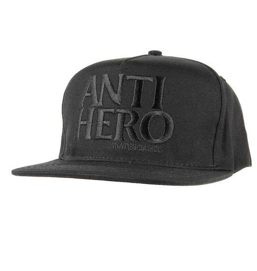 Antihero Anti Hero BlackHero Snapback - Black/Black