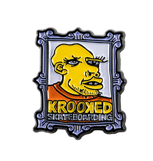 Krooked Krooked Frame Face Pin
