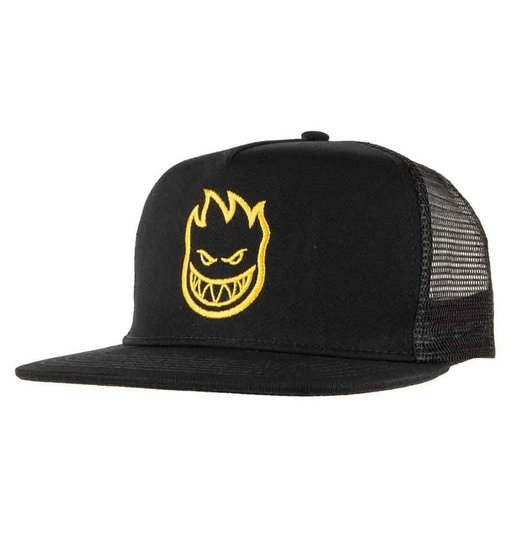 Spitfire Spitfire Bighead Trucker Hat - Black Yellow