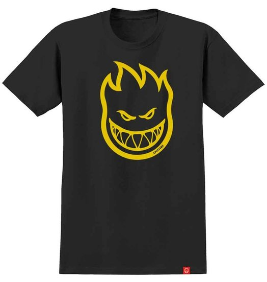 Spitfire Spitfire Bighead Youth Tee - Black/Yellow