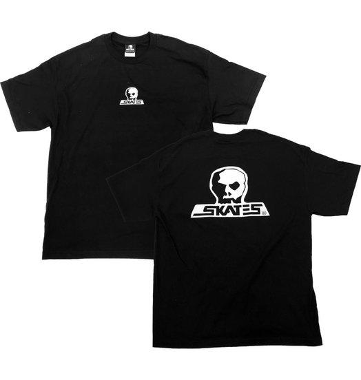 Skull Skates Skull Skates Logo Tee - Black