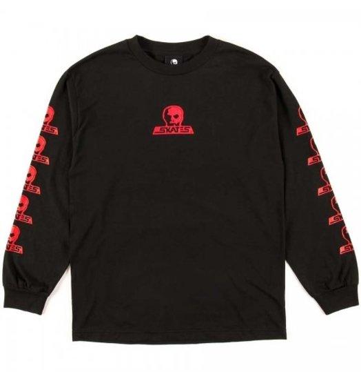 Skull Skates Skull Skates Blood Oath Longsleeve - Black/Red