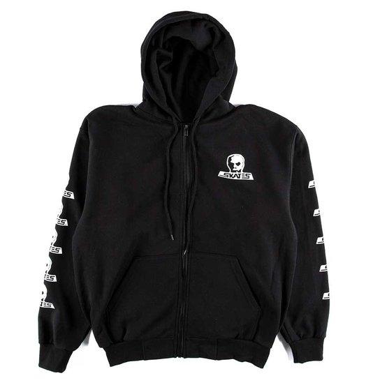 Skull Skates Skull Skates Logo Zip Hoodie - Black