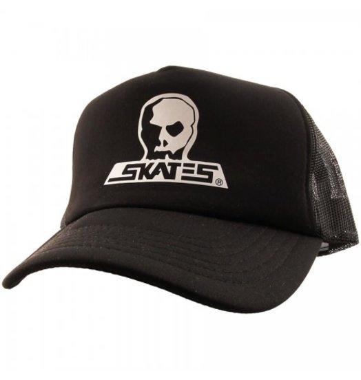 Skull Skates Skull Skates Classic Foam Mesh Snapback - Black
