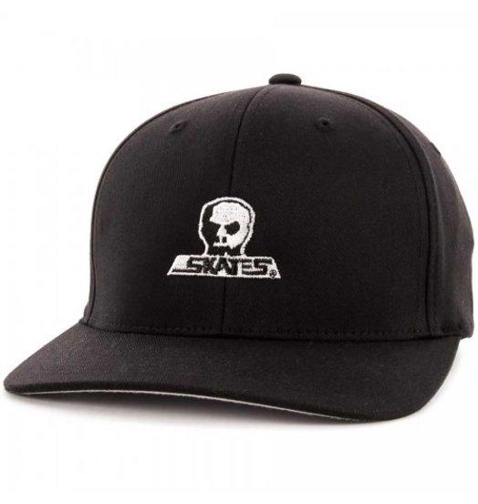 Skull Skates Skull Skates Logo Flexfit - Black