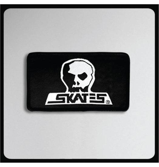Skull Skates Skull Skates Skull Logo Patch